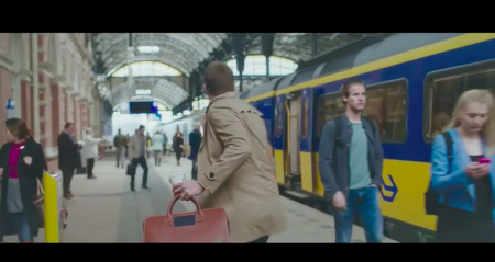 NS Commercial: The First day + tag on Zakelijk